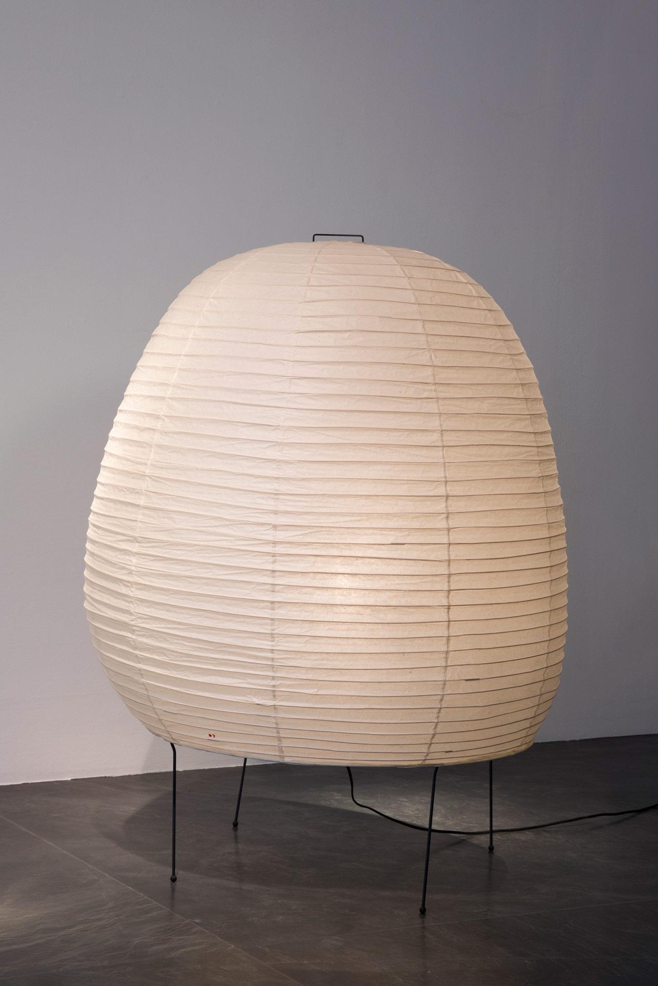 Galerie Downtown Akari Floor Lamp 21n Ca 1960 Galerie Downtown